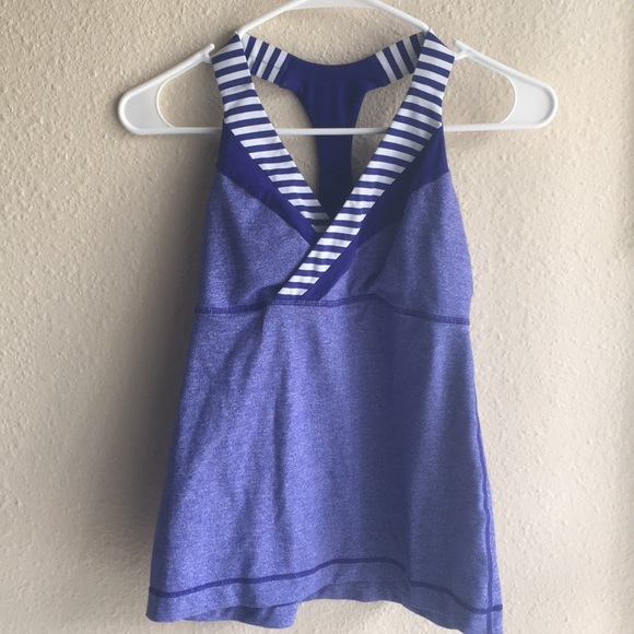 lululemon athletica Tops - LuluLemon racer back tank top
